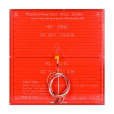 هیت بد PCB Heated Bed مدل MK2A درابعاد328x328mm با سیم و سنسور